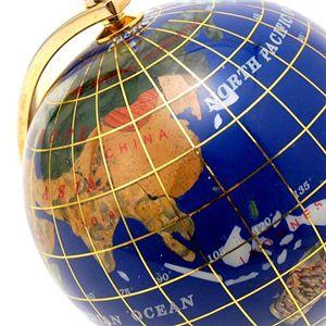 ラピスラズリ地球儀