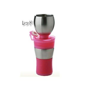 コーヒーメーカーボトル「GAMAGA」 レッド