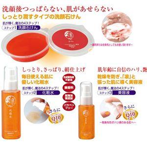 凛スキンケアセット(石けん・化粧水・美容液)
