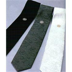 家紋が選べる!正装シルクネクタイ3本セット 12:丸に根笹