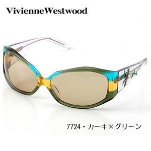 Vivienne Westwod サングラス VW-7724-GR/7724・カーキ×グリーン