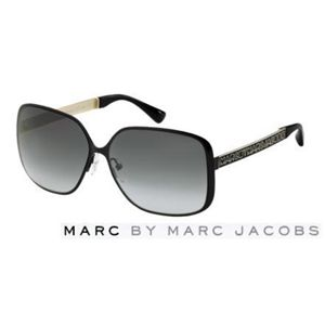 Marc by Marc Jacobs(マーク バイ マークジェイコブス)サングラス MMJ125/S-F0G/PT:スモークグラデーション×ブラック