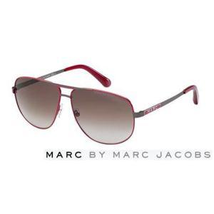 Marc by Marc Jacobs(マーク バイ マークジェイコブス)サングラス MMJ131/S-IOS/FM:ブラウングラデーション×レッド×ガンメタル
