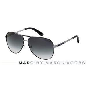 Marc by Marc Jacobs(マーク バイ マークジェイコブス)サングラス MMJ132/S-H5O/JJ:スモークグラデーション×ブラック×ガンメタル