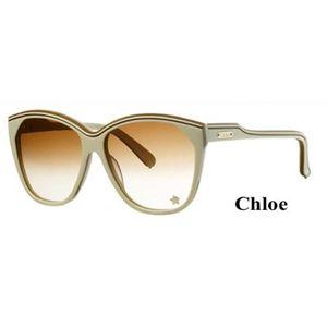 Chloe(クロエ) サングラス CL2181A-C03:ブラウングラデーション×オフホワイト