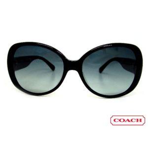 COACH(コーチ) サングラス S777A-BLACK スモークグラデーション×ブラック
