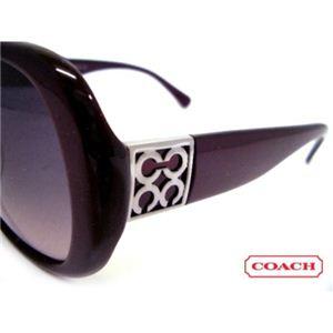 COACH(コーチ) サングラス S777A-PURPLE スモークグラデーション×パープル