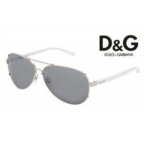 D&G(ディー&ジー) サングラス DD6047-062/6G ミラー×ホワイト