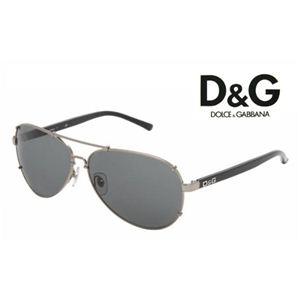 D&G(ディー&ジー) サングラス DD6047-079/87 ガンメタル×ブラック
