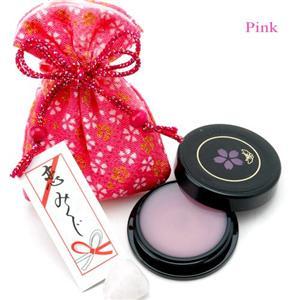 艶桜リップグロス (巾着のカラー:ピンク)