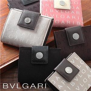 BVLGARI Wホック式財布 22594/DARK BROWN(小)