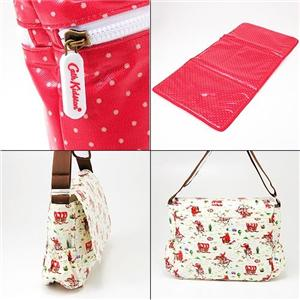 Cath Kidston マザーバッグ NAPPYBAG MINI DOT RED