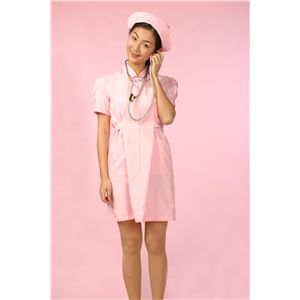 【コスプレ】 白衣の天使 ピンク S 4562135684716