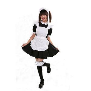 【コスプレ】 リズカフェ 黒 L 4562135695149