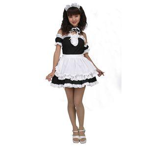 【コスプレ】 美しいメイドさん 黒 L 4571142438274