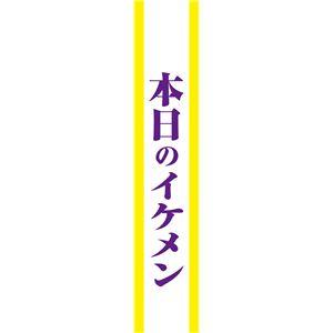宴会タスキ/コスプレ衣装 【本日のイケメン】 ポリエステル100% 〔イベント パーティー〕