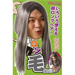 【コスプレ】 THEカツラ ロン毛(白髪) 2個セット 4560320824398