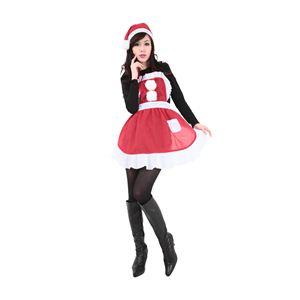 クリスマスコスプレ フリルクリスマスエプロン Ladies