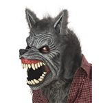 【ハロウィンコスプレ】 Werewolf Ani-Motion Mask(狼人間の可動式マスク) 019519025732