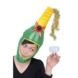 【クリスマスコスプレ 衣装】光る!シャンパンハット