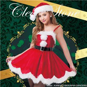 【クリスマスコスプレ 衣装】 デイジーワンピースサンタ