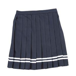 【コスプレ】 Teens Ever(ティーンズエバー) TE-17SSスカート(ネイビー/白ライン)M