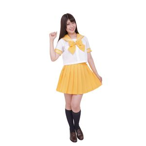 【コスプレ】カラーセーラー 黄4L