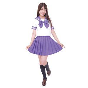【コスプレ】カラーセーラー 紫4L