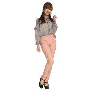 ウルトラフィット美脚パンツ 【ピンク Sサイズ】 ウエスト57cm〜63cm 洗える ストレッチ素材 ウエストゴム