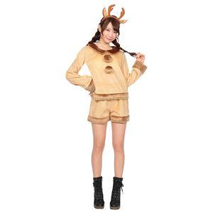 【クリスマスコスプレ 衣装】 ホットパンツトナカイ