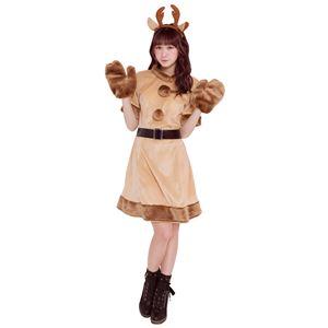 【クリスマスコスプレ 衣装】 キャンディトナカイ
