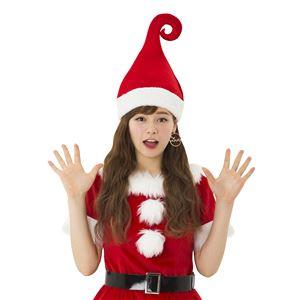 【クリスマスコスプレ 衣装】 ウィッチサンタハット