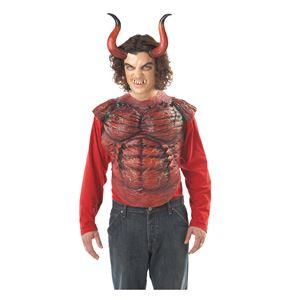 コスプレ衣装/コスチューム California Costumes HELLION HORNS W/TEETH 【角・歯】