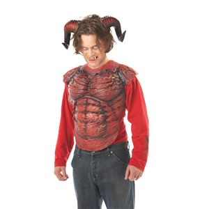 コスプレ衣装/コスチューム California Costumes DEMON HORNS W/TEETH 【悪魔の角・歯】