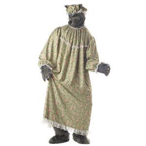 コスプレ衣装/コスチューム California Costumes WOLF GRANNY / ADULT 【ガウン・マスク・手パーツ・足パーツ・キャップ】