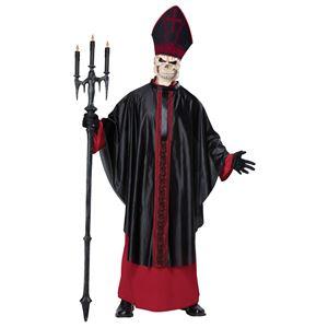 コスプレ衣装/コスチューム California Costumes Black Mass 【ローブ・ポンチョ・かぶりもの・スカルマスク】