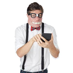 コスプレ衣装/コスチューム California Costumes Geeked Out Mask マスク