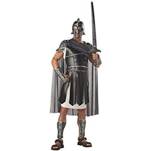 コスプレ衣装/コスチューム California Costumes Centurion 【鎧(肩当・ケープ付き)・兜・脛あて・腕あて】