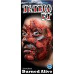 コスプレ衣装/コスチューム Tinsley Transfers Burned Alive タトゥーシール