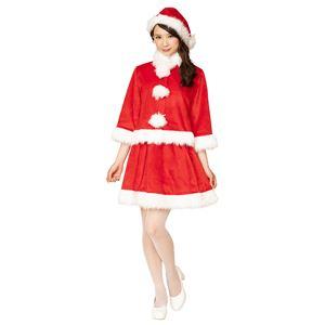 クリスマスコスプレ/衣装 XM ベイシックサンタ レッド 〔イベント パーティー〕