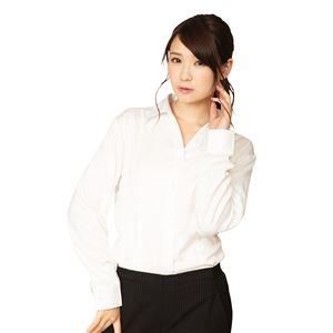 機能性ビジネスシャツ スキッパー L 白