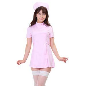 【コスプレ衣装/コスチューム】 シェリーズクローゼット ナース ピンク