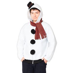 【クリスマスコスプレ/コスプレ衣装】 XM 雪だるまパーカー