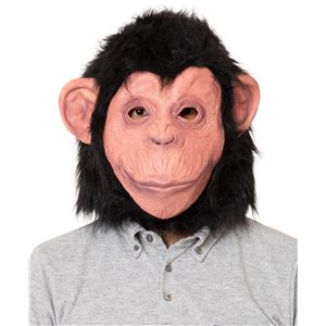 【コスプレ衣装/コスチューム】ラバーマスク チンパンジー