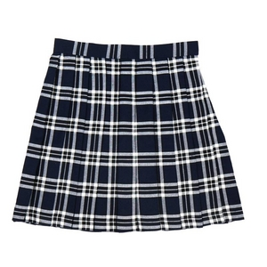 【コスプレ】 プリーツスカート(紺×白) M 4560320825074