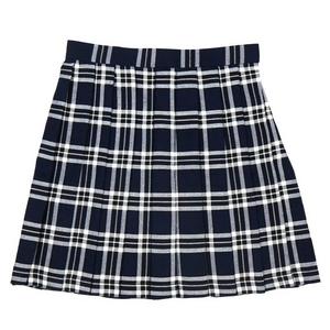 【コスプレ】 プリーツミニスカート(紺×白) L 4560320825081