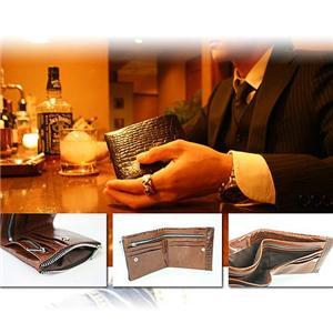 BALENCIAGA 二折財布 ST459 キャメル