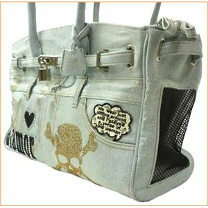 ANTHONYS Carry Bag (Dog Bag) デニム 38601