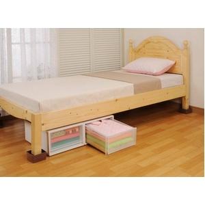 ベッドの高さをあげる足 4cm〜8cm対応タイプ 8個セット<ブラウン>