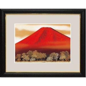 富士図額絵 『赤富士』 【中】